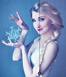 Queen Elsa | Photo To Watercolour Painting