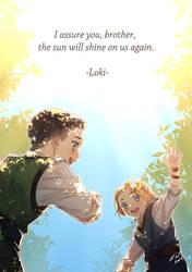 Thor and Loki (kid)