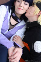 NaruHina - Kiss on the cheek 2 by Wings-chan