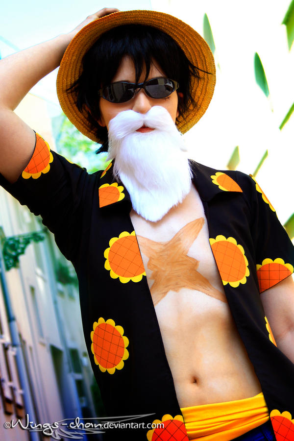Master of Disguise |Monkey D. Luffy| Dressrosa| II by Wings-chan