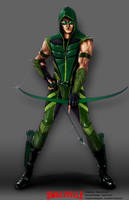 Green Arrow Concept by AndyPoonDesign
