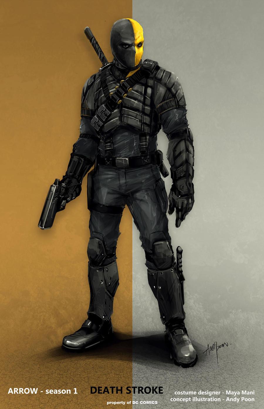 CW ARROW - Deathstroke