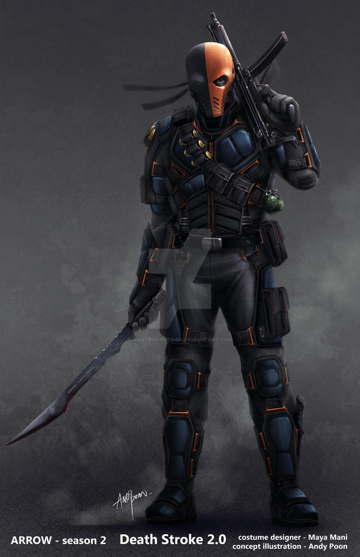 Deathstroke is back! by AndyPoonDesign