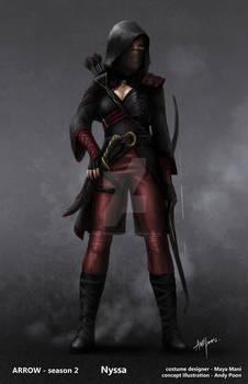 Heir To The Demon - Nyssa Al' Ghul