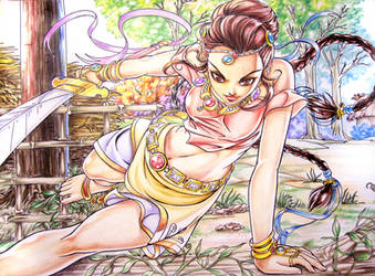 art trade with chasva by xong