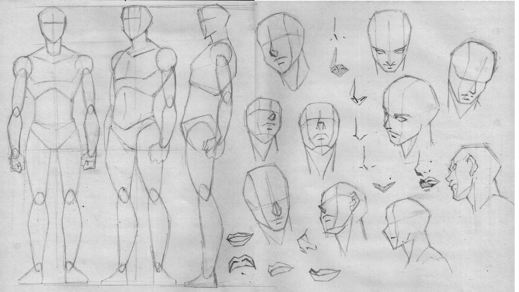 Drawing basics again 1 :P by xong on DeviantArt