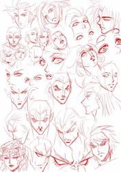 heads  eyes practice