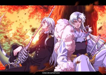 Sesshomaru and  undertaker crossover by xong