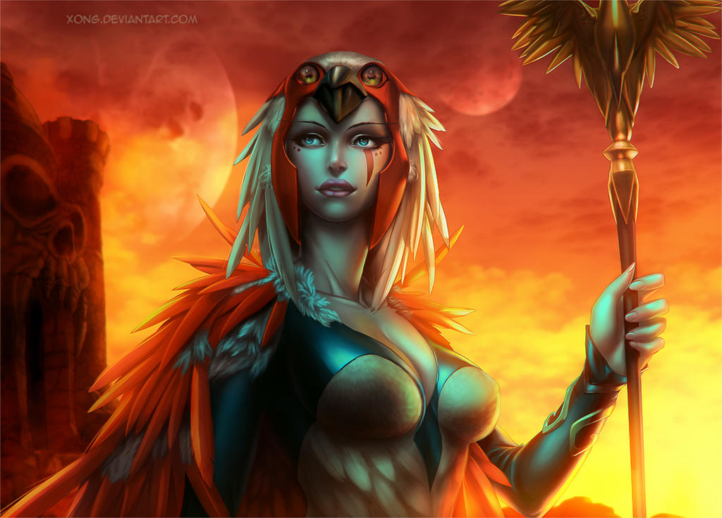 sorceress  Fan art by xong