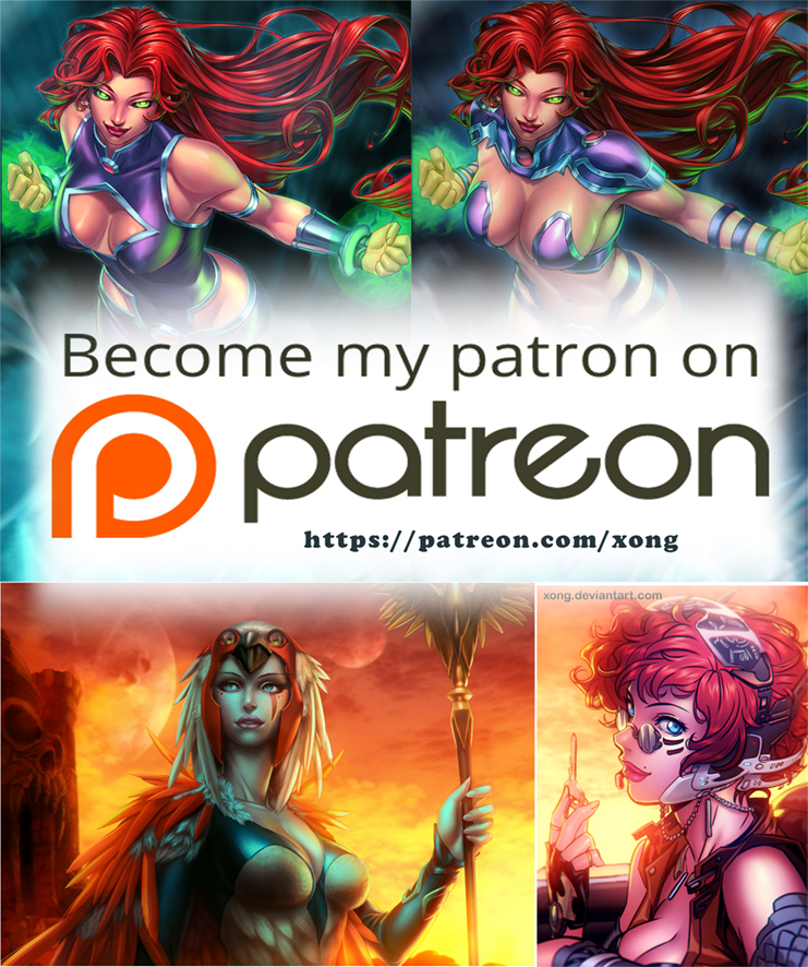 Patreon February by xong