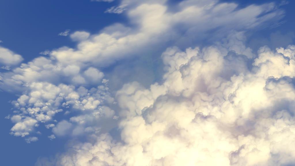 Cloud brush desu by xong