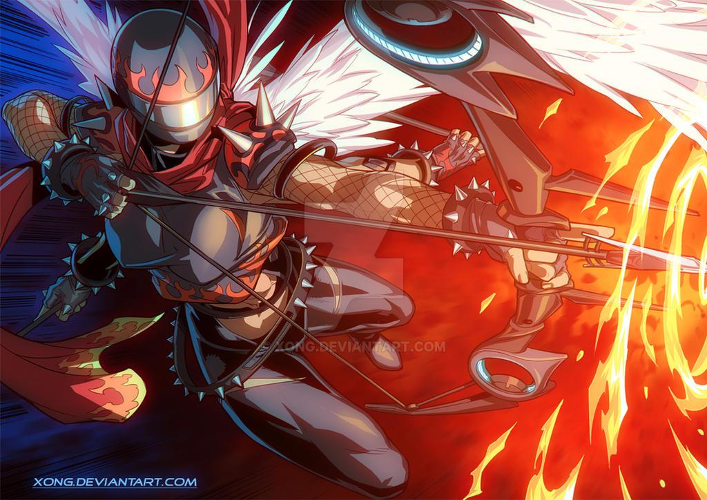 Fourarms Fire arrow by xong