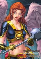 Hawkgirl by xong