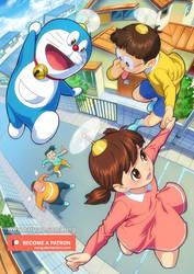 Doraemon by xong