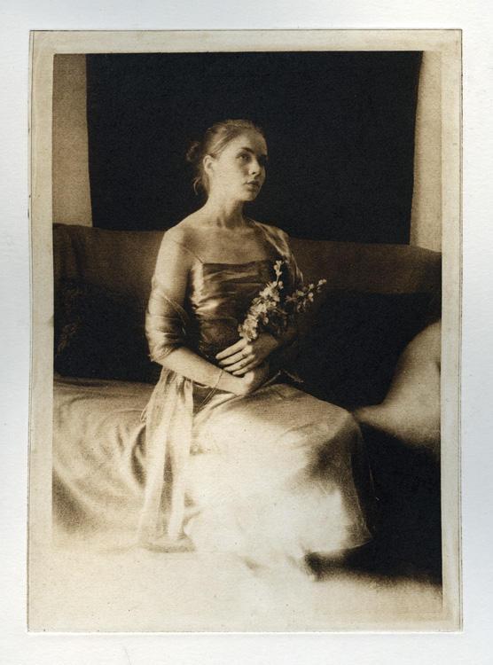 Photogravure II: Self-Portrait by librakat
