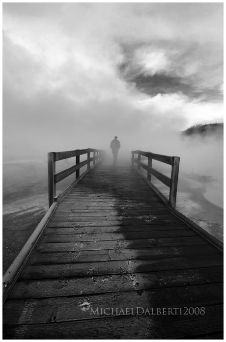 Foggy Path by michael-dalberti