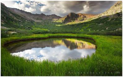 Circled Reflection by michael-dalberti