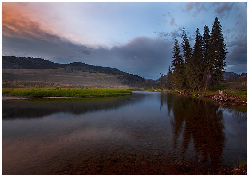 a Calm Evening by michael-dalberti