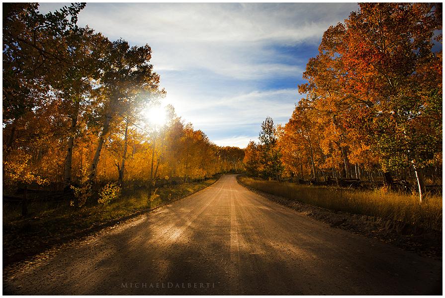 Sacred Road by michael-dalberti