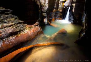 Canyon Oasis by michael-dalberti