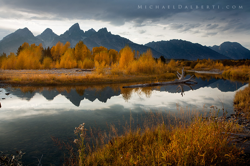Fall Evening by michael-dalberti