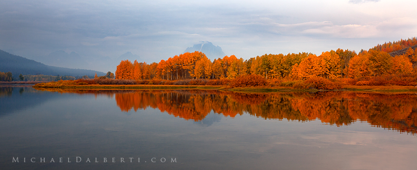 Oxbow Bend by michael-dalberti