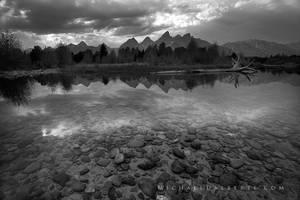 Depth of the Tetons by michael-dalberti