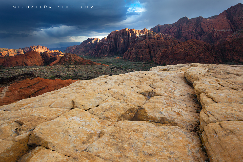 Snow Canyon by michael-dalberti