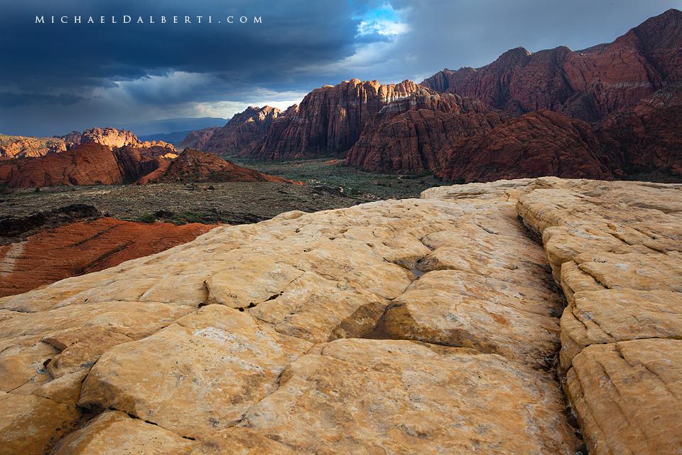 Snow Canyon by michael-dalberti