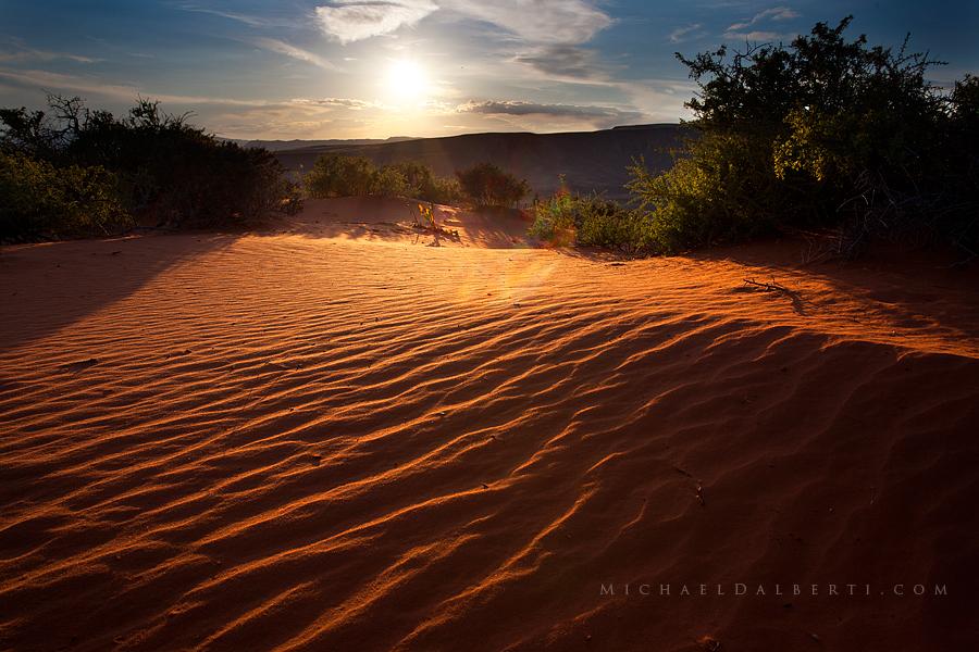 Desert Silence by michael-dalberti