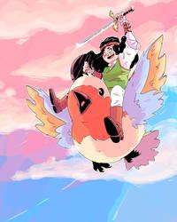 Swordtember 7 'wings'