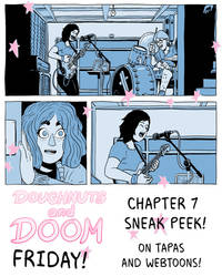Webcomic, chapter 7 sneak peek!