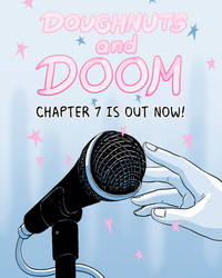 Doughnuts and Doom webcomic chapter 7!