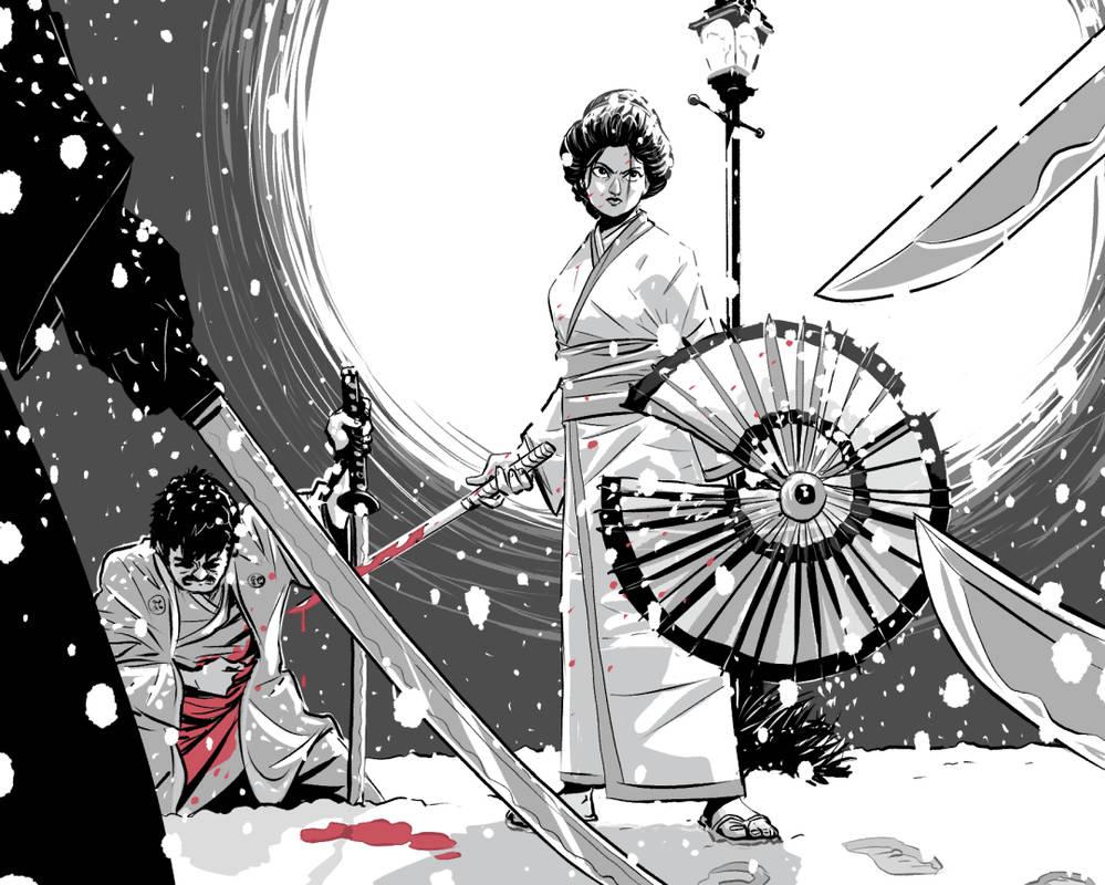Swordtember - Lady Snowblood