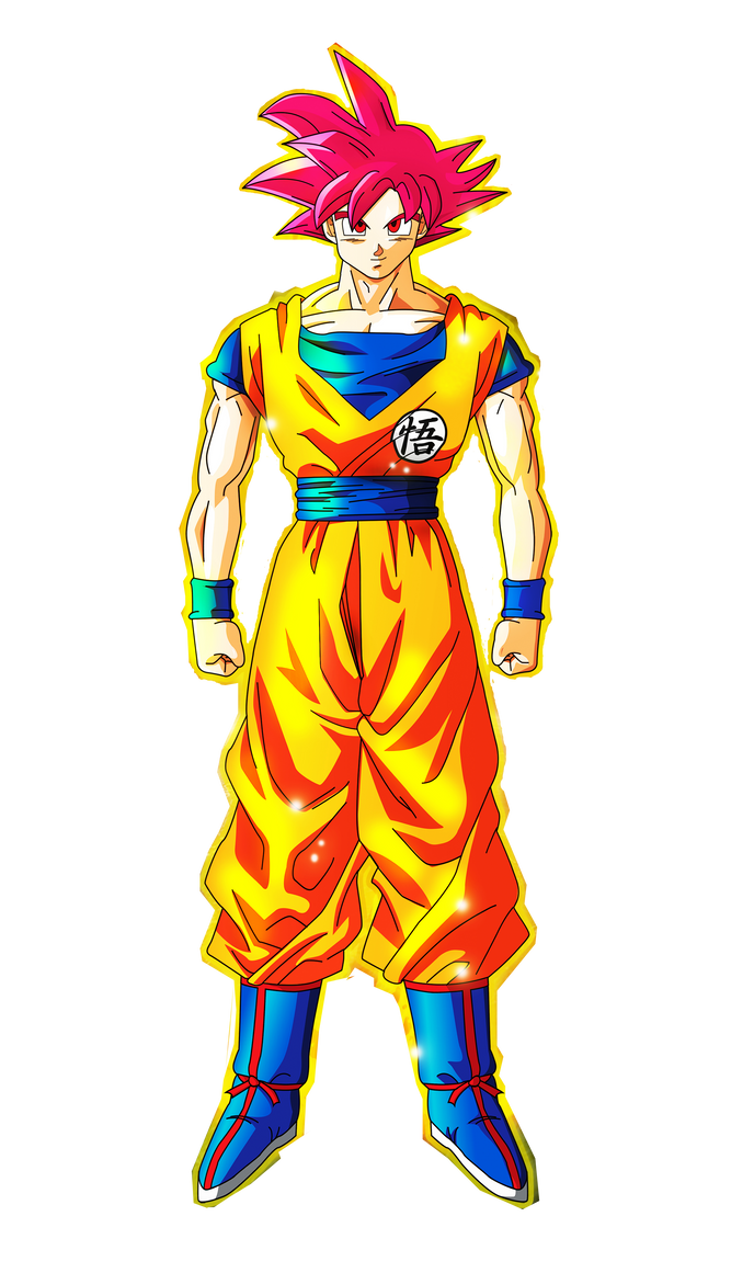 Goku super saiyan god dbz 2013 by dbzlatino on deviantart - Foto goku super saiyan god ...
