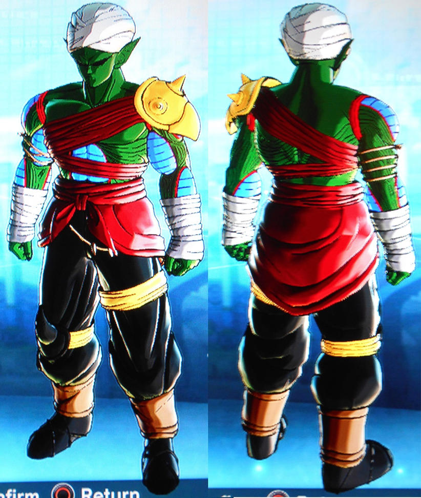 Teegah Namekian Outfit 2 By Ask-kevlron On DeviantArt
