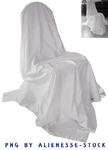 Draped Chair Cut-out PNG