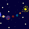Pixel Space Background by kayleero
