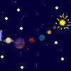 Pixel Space Background by kayleero