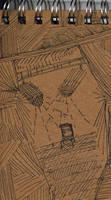 Back Cover Of Mini Sketchbook