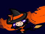 Chibi Witch Wallpaper