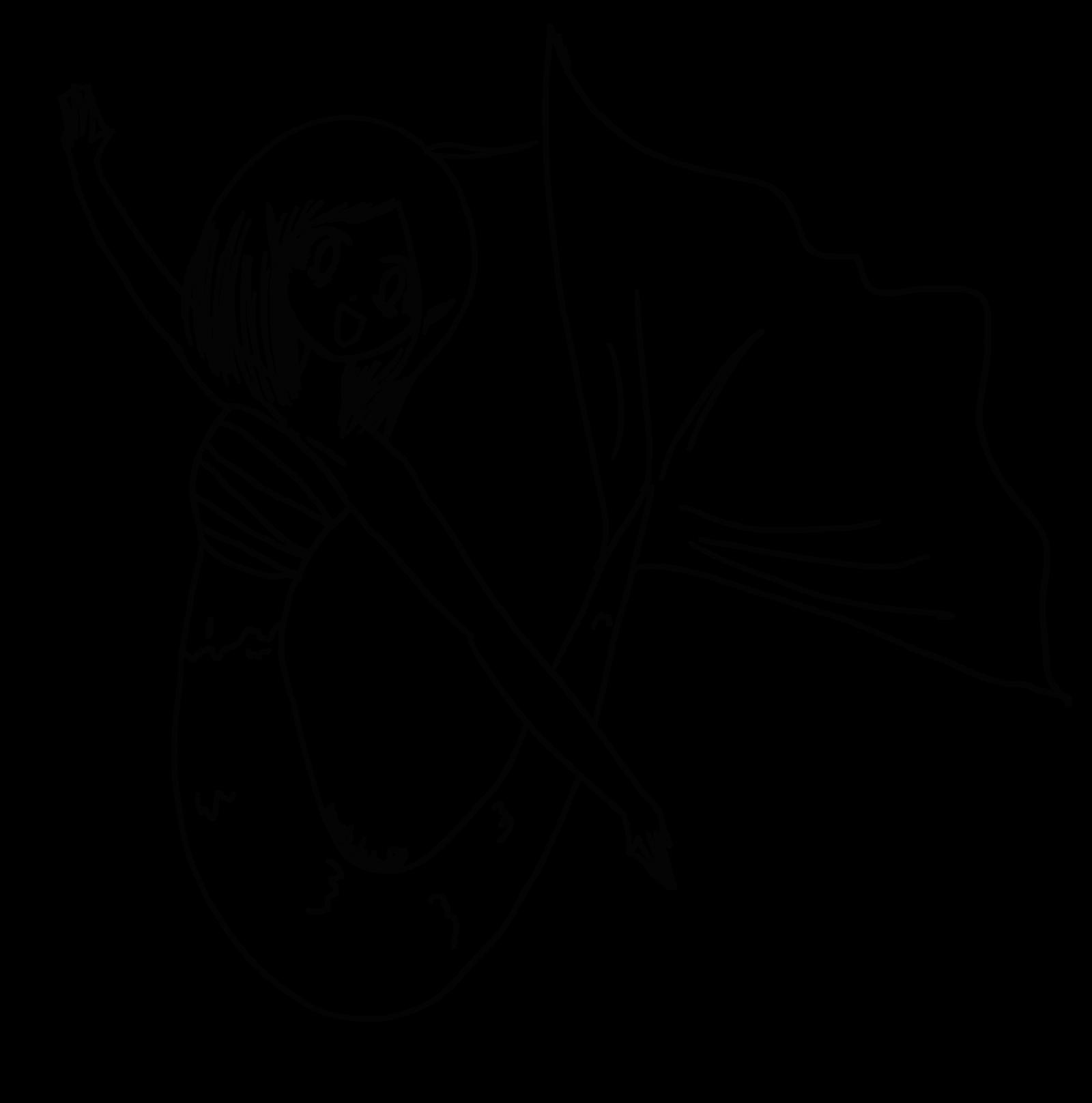 Sad Mermaid -lineart- by DeerDandy on DeviantArt |Mermaid Line Drawing