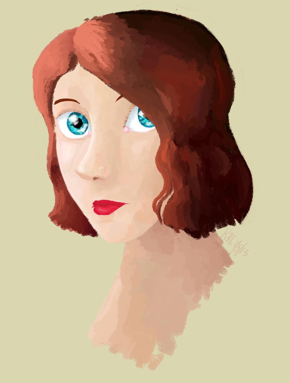 Natasha Romanoff by kayleero