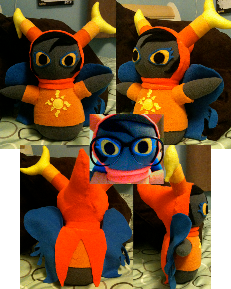 vriska plushie by Blubble-The-Blubs