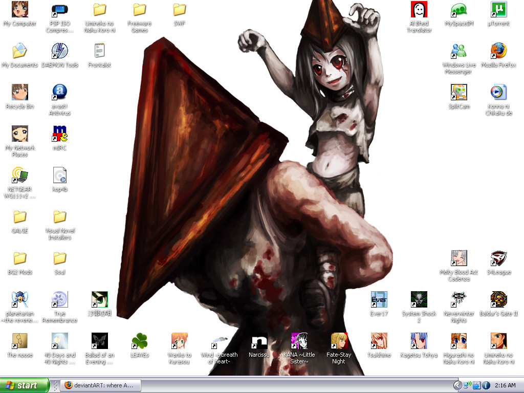 Spawn of Pyramid Head Desktop by Ai-TanTan