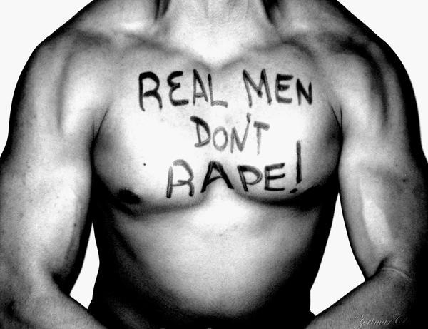 Real Men Don't Rape by ZerimarClassics
