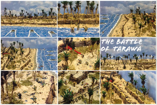 Battle of Tarawa Diorama