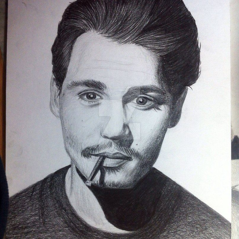 Johnny Depp by IraNyaaasha