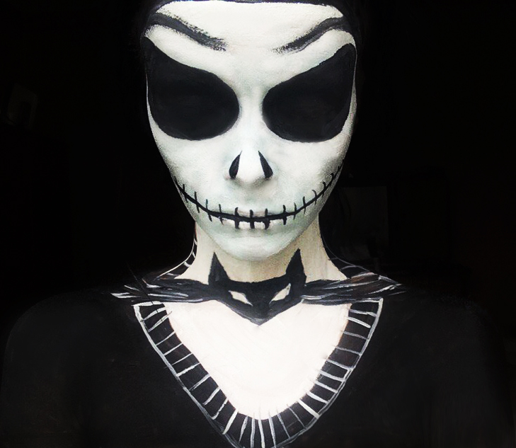 Jack Skellington makeup by IraNyaaasha on DeviantArt