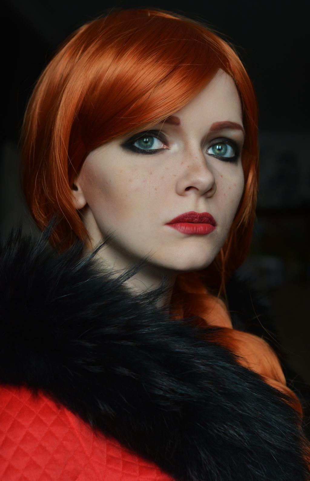 Cerys an Craite - The Witcher 3 by IraNyaaasha